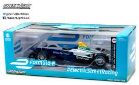 GreenLight - Formula E  - gl18104 : 2016-17 FIA Formula E Spark-Renault promo version, grey/blue