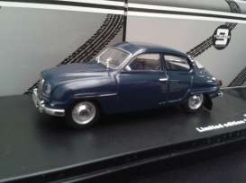 Triple9 Collection - Saab  - T9-43042*2 : 1964 Saab 96, dark blue with light grey interior.