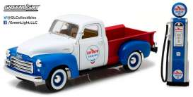 GreenLight - GMC  - gl12992 : 1950 GMC 150 *Chevron* with Vintage Chevron Gas Pump