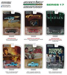 GreenLight - Assortment/ Mix  - gl44770~12 : 1/64 Hollywood series 17, assortment of 12.