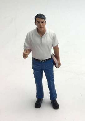 American Diorama - Figures diorama - AD77493 : 1/24 Mechanic Manager Tim