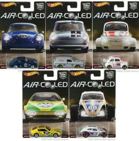 Hotwheels - Assortment/ Mix  - hwmvDJF77-956H~10 : 1/64 *Aircooled* Assortment. Mix box of 10