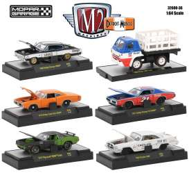M2 Machines - Assortment/ Mix  - M2-32600-36~6 : Mopar Garage *Detroit-Muscle Release 36* assortment of 6.