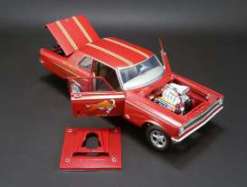 Acme Diecast - Dodge  - acme1806503 : 1965 Dodge AWB Sedan Mr. Norm's, red