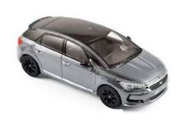 Norev - Citroen  - nor155576 : 2016 Citroen DS 5 Performance Line, platinium grey