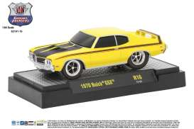 M2 Machines - Buick  - M2-82161-16F : 1970 Buick GSX *Ground Pounders Release 16*, yellow/black