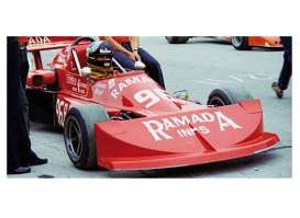 Minichamps - March Ford - mc417762096 : 1976 March Ford 76B Cosworth *James Hunt* Formula Atlantic 3rd place GP De Trois-Rivieres Park *Resin series*, red