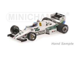 Minichamps - Williams Ford - mc435830001 : 1991 Williams Ford FW08C *Keke Rosberg* Winner Monaco GP, white