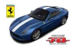 Bburago - Ferrari  - bura76206 : Ferrari California T The Phil *Limited edition 70 years Bburago Ferrari*, blue/white