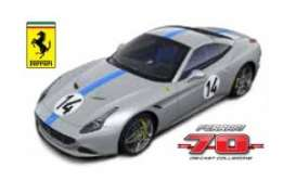 Bburago - Ferrari  - bura76103 : Ferrari California T #14 The Hot Rod *Limited edition 70 years Bburago Ferrari*, grey/blue