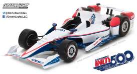 GreenLight - non  - gl10998 : 2017 #22 101st Running of the Indianapolis 500 Event Car, white/red/blue