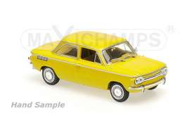 Maxichamps - NSU  - mc940015301 : 1967 NSU TT, yellow