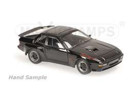 Maxichamps - Porsche  - mc940066124 : 1981 Porsche 924 GT, black