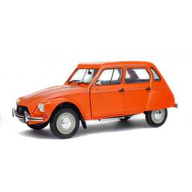 Solido - Citroen  - soli1800304 : 1967 Citroen Dyane 6, orange