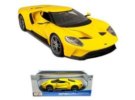 Maisto - Ford  - mai31384y*1 : 2017 Ford GT, yellow