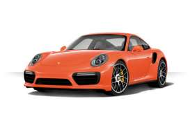 Minichamps - Porsche  - mc155066320 : 2016 Porsche 911 Turbo S, orange