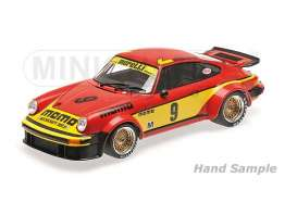 Minichamps - Porsche  - mc155776409 : 1977 Porsche 934 Jolly Club Brambilla/Moretti Class Winners Silverstone 6H, red/yellow