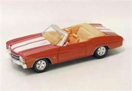 Chevrolet  - Chevelle SS454 convertible 1971 orange/white - 1:18 - Maisto - 31883 - mai31883o | Tom's Modelauto's