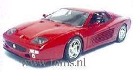 Ferrari  - 1994 red - 1:18 - Hotwheels - mv29758 - hwmv29758 | Tom's Modelauto's