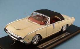 Ford  - 1962 cream w/black soft top - 1:18 - Welly - 19868c - welly19868c | Toms Modelautos