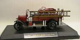 Signature Models - Ford  - sig32313 : 1926 Ford Model T Fire Truck *Detroit Fire Truck*, red/black