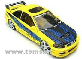 Honda  - yellow - 1:18 - Hotwheels - mv57305 - hwmv57305 | Tom's Modelauto's