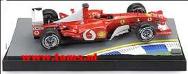 Ferrari  - 2003 Red - 1:18 - Hotwheels - mv05224 - hwmv05224 | Tom's Modelauto's