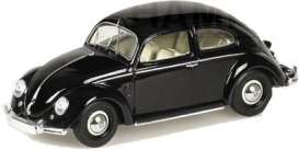 Volkswagen  - 1951 black - 1:43 - Minichamps - 400051200 - mc400051200 | Tom's Modelauto's