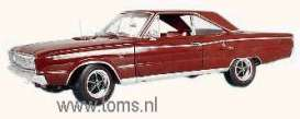 Dodge  - 1967 metallic dark red - 1:18 - Highway 61 - hw50284 | Tom's Modelauto's