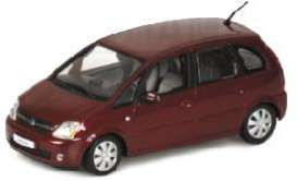 Opel  - 2003 metallic red - 1:43 - Minichamps - 400042101 - mc400042101 | Toms Modelautos