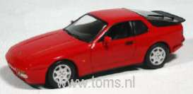 Porsche  - 1989 red - 1:43 - Minichamps - 400062220 - mc400062220 | Tom's Modelauto's