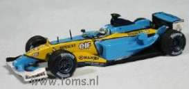 Renault  - 2003 blue/yellow - 1:43 - Minichamps - 400030034 - mc400030034 | Tom's Modelauto's