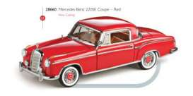 Mercedes Benz  - 1959 red - 1:43 - Vitesse SunStar - 28660 - vss28660 | Toms Modelautos