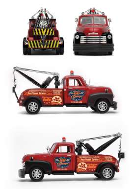 Welly - Chevrolet  - welly22086r : 1953 Chevrolet Tow Truck, red