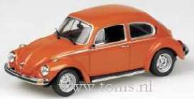 Volkswagen  - 1974 orange - 1:43 - Minichamps - 430055109 - mc430055109 | Tom's Modelauto's