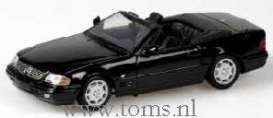 Mercedes Benz  - 1999 black - 1:43 - Minichamps - 400033030 - mc400033030 | Tom's Modelauto's