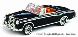 Mercedes Benz  - 1959 black - 1:43 - Vitesse SunStar - 28620 - vss28620 | Tom's Modelauto's