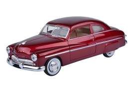 Mercury  - 1949 metallic red - 1:24 - Motor Max - 73225mr - mmax73225mr | Tom's Modelauto's