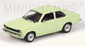 Opel  - 1973 light green - 1:43 - Minichamps - 430045608 - mc430045608 | Tom's Modelauto's