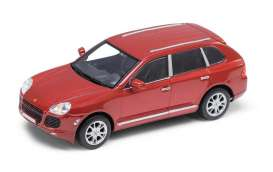 Porsche  - 2002 red - 1:24 - Welly - 22431r - welly22431r | Tom's Modelauto's