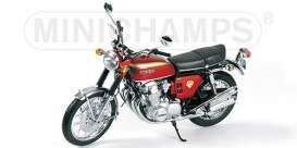 Honda  - 1969 metallic red - 1:6 - Minichamps - 062161000 - mc062161000 | Toms Modelautos