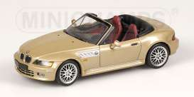 BMW  - 1999 metallic gold - 1:43 - Minichamps - 430028235 - mc430028235 | Toms Modelautos