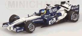 Williams  - 2005 blue/white - 1:43 - Minichamps - 400050008 - mc400050008 | Tom's Modelauto's