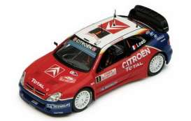 IXO Models - Citroen  - ixram167 : Citroen Xsara WRC #1 winner Rally Monte Carlo 2005 Loeb/Elena with night lights