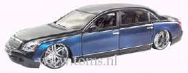 Maybach  - 2004 blue - 1:18 - Hotwheels - mvH2261 - hwmvH2261 | Tom's Modelauto's