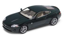 Jaguar  - 2006 dark green - 1:24 - Welly - 22470gn - welly22470gn | Toms Modelautos