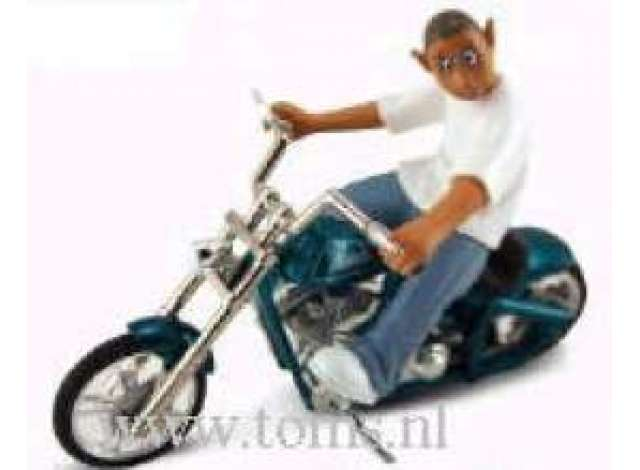 Homie Rollerz 1:24 Motocycle Club Topo and Praying Mantis Gold