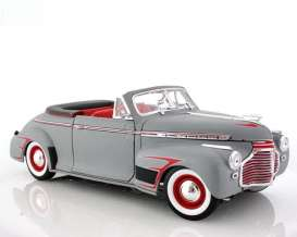 Chevrolet  - 1941 primer grey - 1:18 - Welly - 19862pgy - welly19862pgy | Toms Modelautos