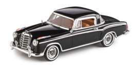 Mercedes Benz  - 220 SE Coupe 1959 black - 1:43 - Vitesse SunStar - 28663 - vss28663 | Toms Modelautos