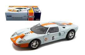 Ford  - 2004 gulf blue/orange - 1:12 - Motor Max - mmax73001b | Tom's Modelauto's